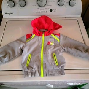 Nike toddler windbreaker light jacket nwot